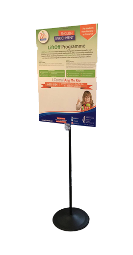 Sign Stand Display