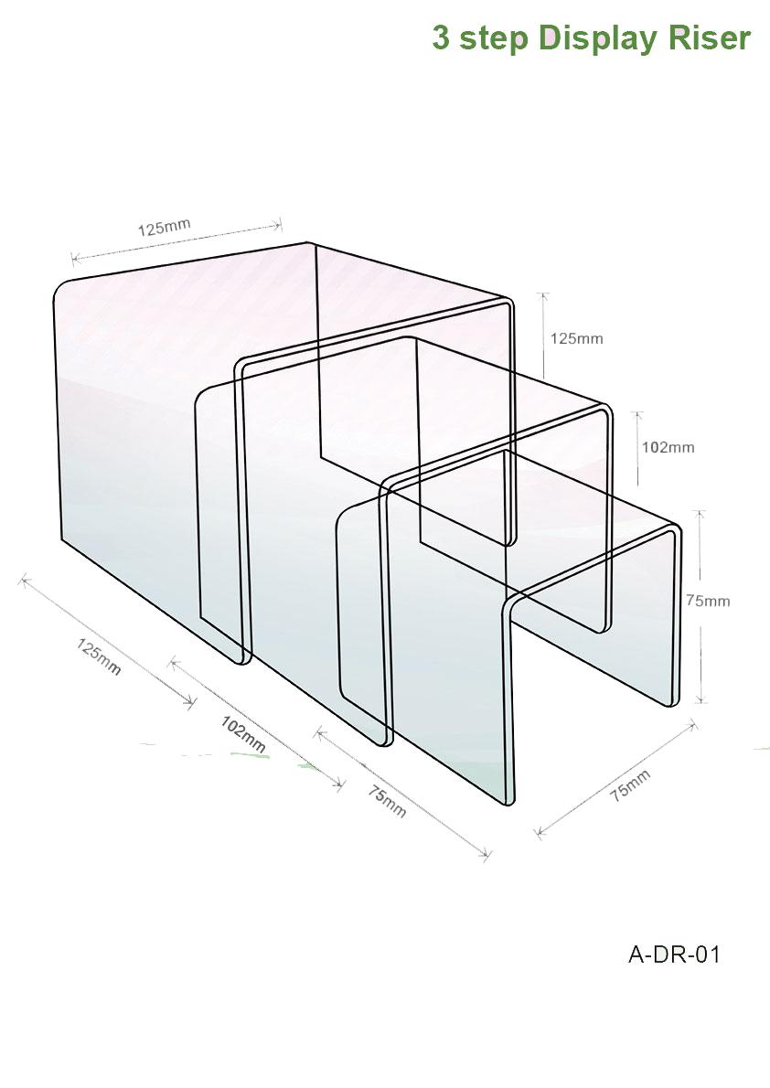 3-step-display-riser