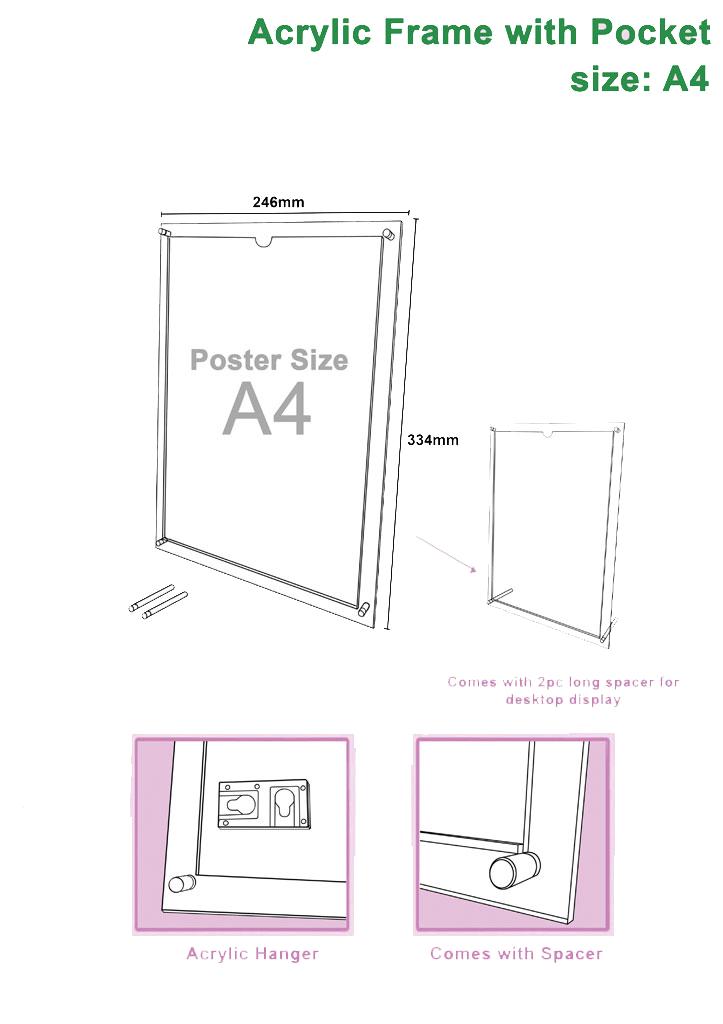 a4-acrylic-frame