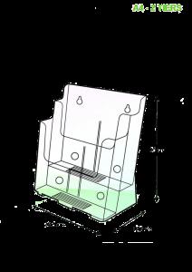 brochure-holder-desktop-type-a4-2-tier