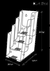 brochure-holder-desktop-type-dl-4-tier