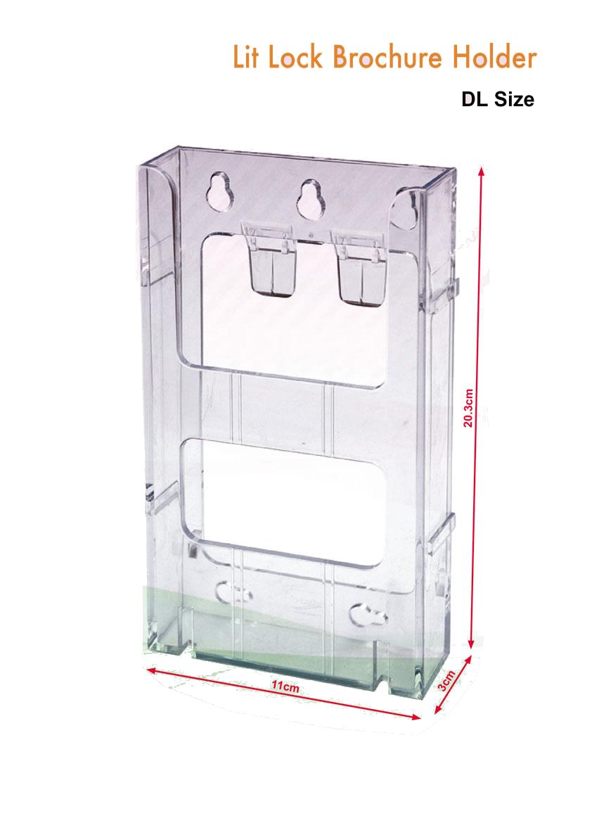 brochure-holder-lit-lock-type-dl-size