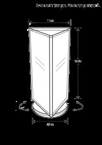 holder-3-sided-type-dl-size-revolving