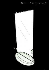 holder-t-shape-dl-size-portrait-with-oval-shape-base