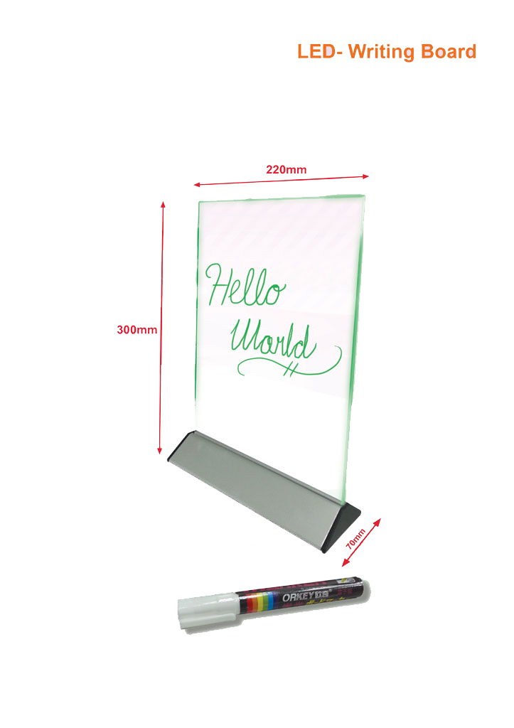led-writing-board-220mm-l-x-300mm-ht-x-70mm-d