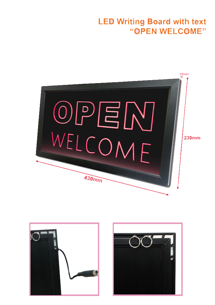 led-writing-board-text