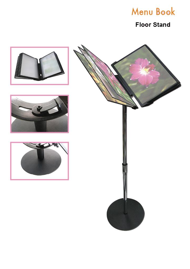 menu-book-floor-stand