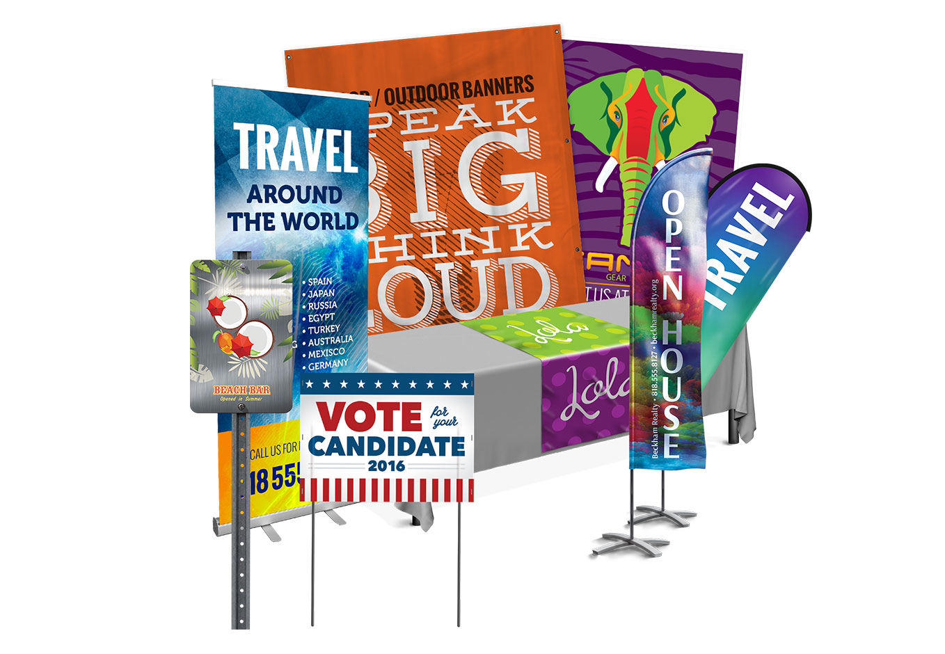 Display System for Events Signages