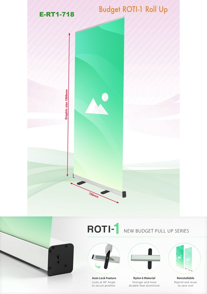 Budget Roll Up Banner 700x1800